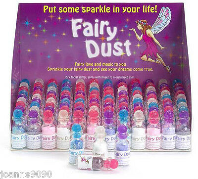 Fairy Dust Glitter Face And Body Paint Makeup Party Bag Filler Gift Card Craft
