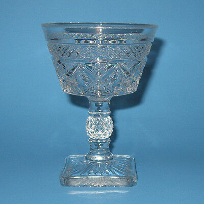 Imperial Glass CAPE COD Tall Sherbet Champagne Glass (s) Clear