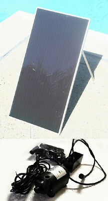 SOLAR POWER POND WATER PUMP With 40 Watt SOLAR PANEL