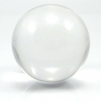 80mm Contact Ball - 100% Crystal Clear Acrylic Ball - Manipulation Juggling