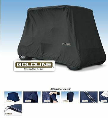 Goldline Premium 4 Person Passenger Golf Car Cart Storage Cover, Charcoal