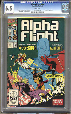 Alpha Flight #90 CGC 6.5 FN+ Universal