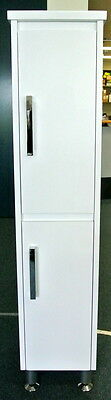 1350mm Bathroom  Tallboy with Square Handles