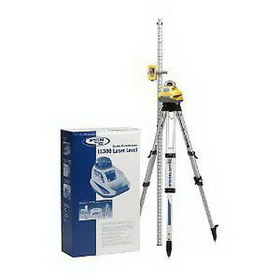 NEW Spectra Precision Laser LL300-2 Automatic Self-leveling Laser Level, 10-Foot
