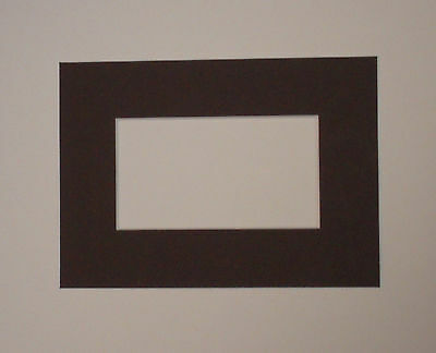 Brown picture and photo mounts
