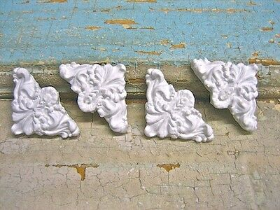 Shabby N Chic Corners (4) Furniture Appliques / Onlays / Crafts *