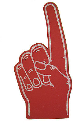 Palm Printed Giant Foam Hand Pointy Finger