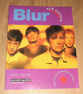 BLUR The Illustrated Story - New Edition UK SOFTBACK BOOK PAUL LESTER 1996