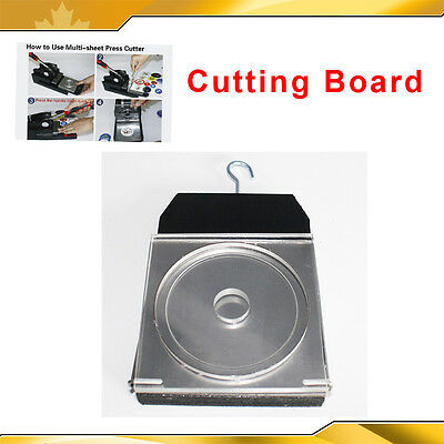 Cutting Board for Multi Sheet Graphic Punch Circle Cutter Button Maker Size New
