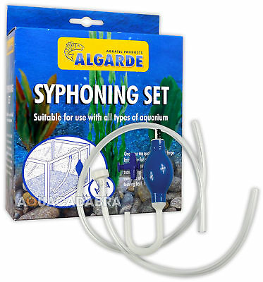 Algarde Syphoning Set Fish Tank Aquarium Syphon Kit Gravel Cleaning Tropical