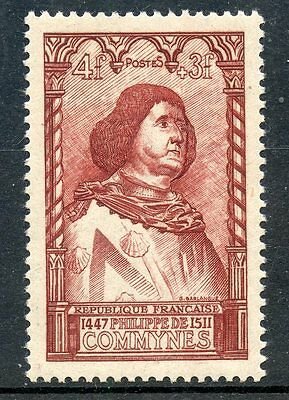 Stamp /  Timbre France Neuf N° 767 ** Celebrite / Commynes