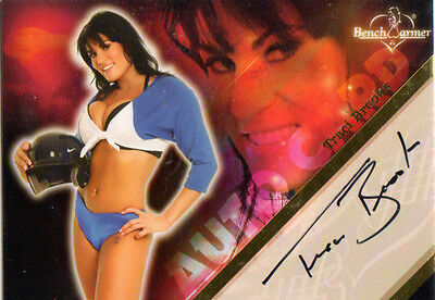2008 BENCHWARMER TRACI BROOKS AUTHENTIC AUTOGRAPH TRADING CARD #19 of 20