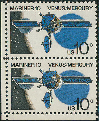 """#1557a """"MARINER 10¢"""" PAIR RED OMITTED MAJOR ERROR WITH PF CERT HV3067"""