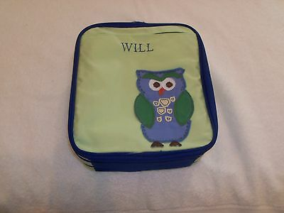 """POTTERY BARN KIDS  LUNCH BAG  """"WILL""""   NEW"""