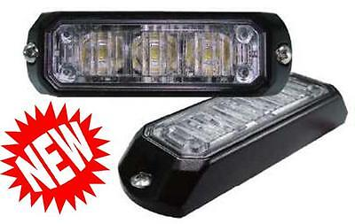 Pair of Britax L77 LED directional flashing grill lights for recovery highway