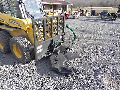 "New CID Xtreme 12"" Rotating Tree Shear For Bobcat Skid Steer Loader Attachment !"