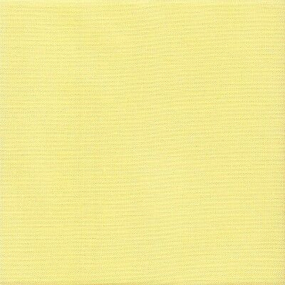 Zweigart 28 count Cashel Linen Cross Stitch Fabric FQ 49 x 70cms  Summer Yellow