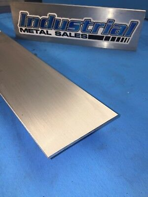 "1/8"" x 3"" 6061 T6511 Aluminum Flat Bar x 12""-Long-->6 PACK COMBO MILL STOCK"