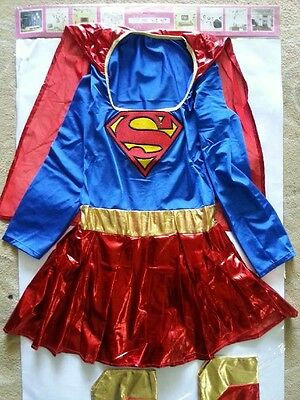 Fashion Halloween Wonder Superwoman Game Costume Cos play Fancy Dress