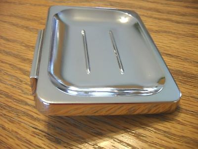 Vintage Style NEW CHROME SOAP DISH Holder Wall Mount Bathroom Kitchen Trailer
