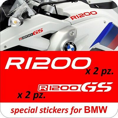 KIT Adesivi Serbatoio Stickers Moto BMW R 1200 gs Decal R1200GS
