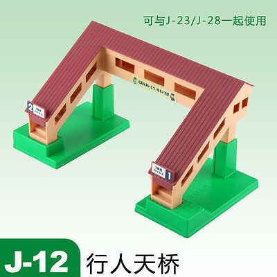 Tomy Plarail Train Scene Part-J-12 Over Pass Bridge