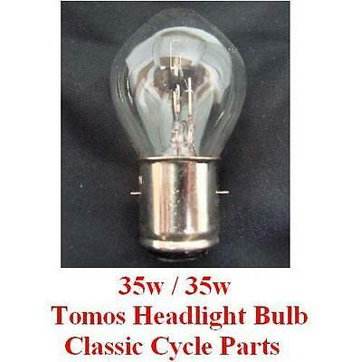 Tomos Headlight Bulb 12V 35w/35w Head Light Sprint ST Targa Std LX