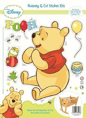 Disney Nursery & Cot Collectors Sticker Kit - Winnie the Pooh