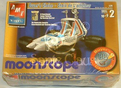 Space 1999 : Moonscope Amt 1/25 Scale Model Kit Made In 2002
