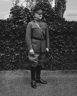1922 US Army General JOHN PERSHING Glossy 8x10 Photo American Legion Print