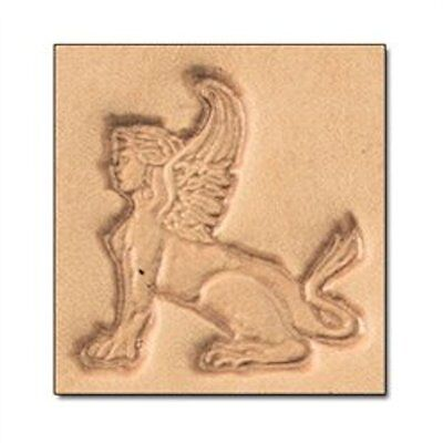 Craftool 3D Sphynx Left Stamp 8647-00 by Tandy Leather