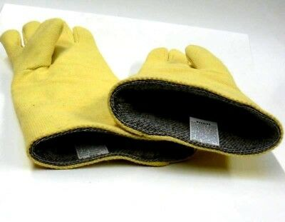 "Gloves High Temperature Kevlar Heat Resistant Furnace Melting Glove 18"" HI-Temp"
