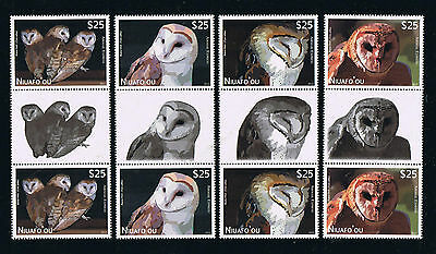 Niuafo'ou --- OWLS --- Air Post Special Delivery Gutter Pairs Set