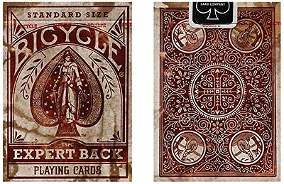 1 Deck Bicycle Distressed Expert Back Playing Cards
