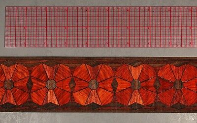 "2-5/8"" Collectible Masterpiece Marquetry Banding by Buffard Freres (Inlay-307)"