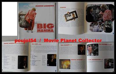BIG MAMMA - Lawrence,Long,Giamatti,Howard - DOSSIER DE PRESSE / FRENCH PRESSBOOK
