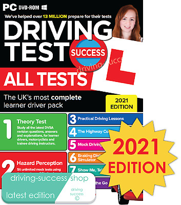 Driving Theory Test Success All Tests and Hazard Perception 2017 PC DVD-ROM