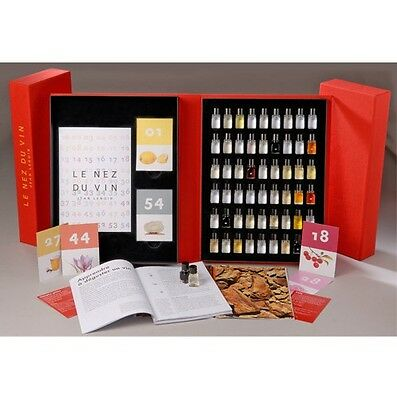 Le Nez du Vin - The masterkit, 54 aromas - Editions Jean Lenoir - english