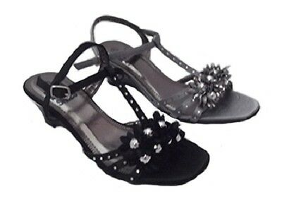Ladies Shoe No Shoes Morgan Satin Strappy Wedges Black or Pewter New Size 5-10