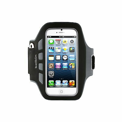 Belkin Armband For Iphone Se 5 5C 5S Easefit Plus Key Pouch Blk New F8W106Qec00