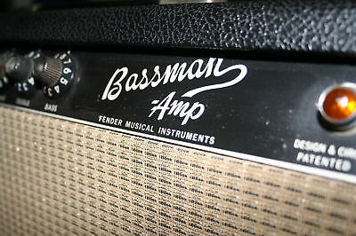 Blackface Mod Kit for Vintage Fender Bassman 100 Silverface Amps