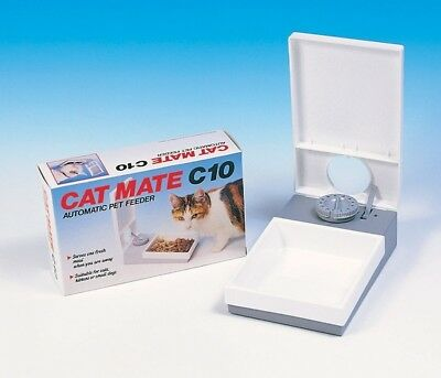 Pet Mate C10 Automatic Pet Feeder For A Cat Kitten Puppies Small Dog 205C