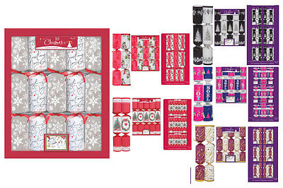 "10x14"" Luxury Christmas Crackers-Choice of 6 Tradtional or Contemporary Designs"
