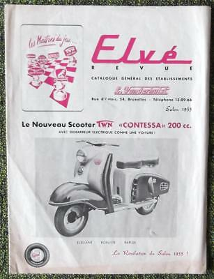 French Dealership Sales Brochure 1955 - Moto Guzzi Interest