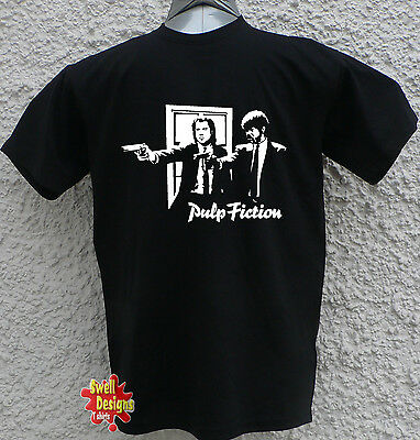 PULP FICTION tarantino cult tv movie retro cool T Shirt ALL SIZES