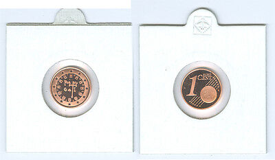 Portugal  1 Cent 2002 PP