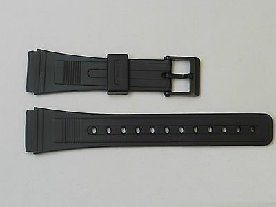 Replacement Casio Sportstrap Silicon Rubber Watch Band 20mm