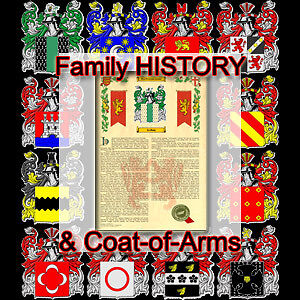 Armorial Name History Coat Of Arms Family Crest 11x17 Mcmillen