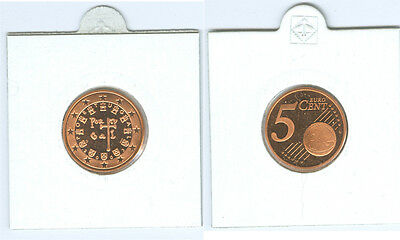 Portugal  5 Cent 2002 PP