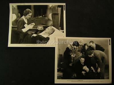 1934 Preston Foster Mona Barrie Sleepers East VINTAGE 2 Movie PHOTO LOT 722A